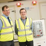 (l-r) Shaun Struthers, products director, HVAC & R and David Cherry products engineering manager, HVAC & R