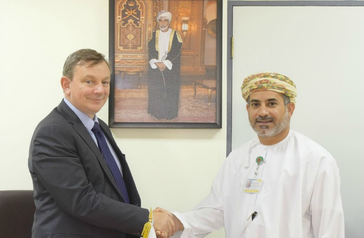 STATS Group Middle East director Angus Bowie (left) and Badar Al Kharusi, Director of Infrastructure at PDO